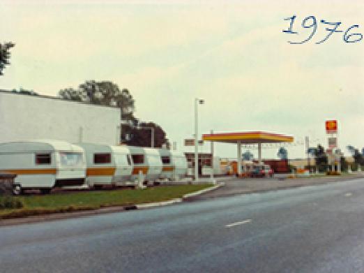1976 venture caravans