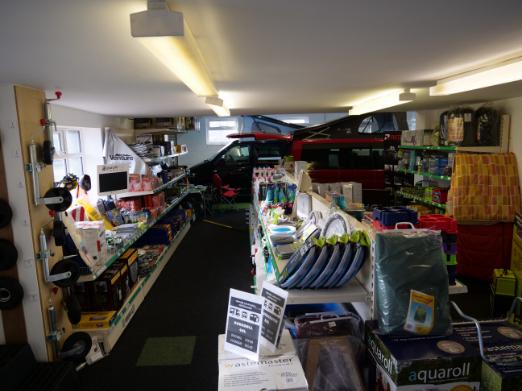 inside accessories shop