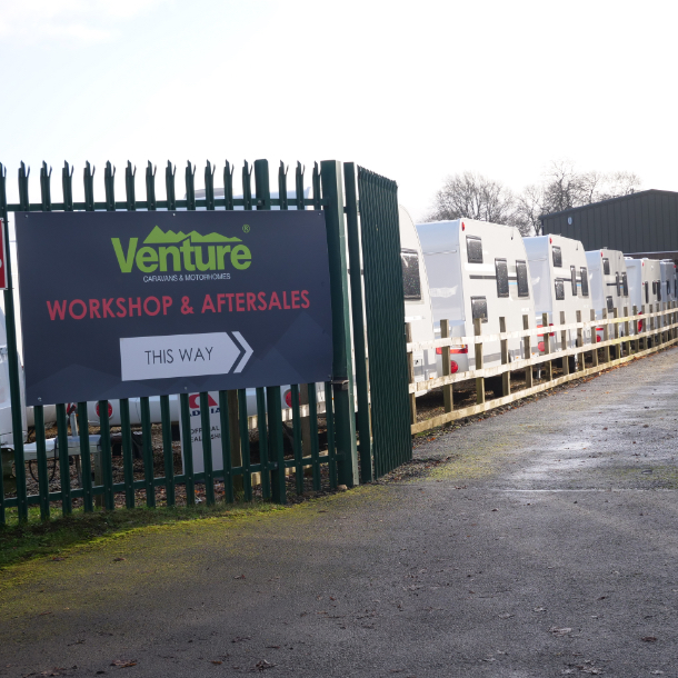 Servicing & Aftersales Venture Caravans