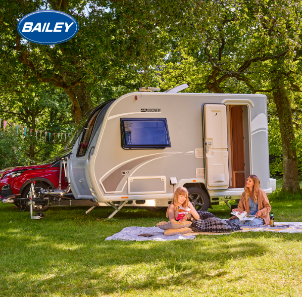 bailey small caravan