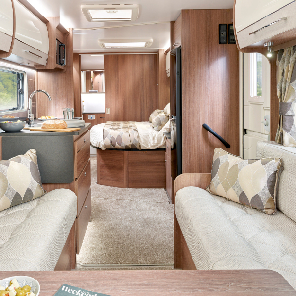 Bailey Caravans Interior