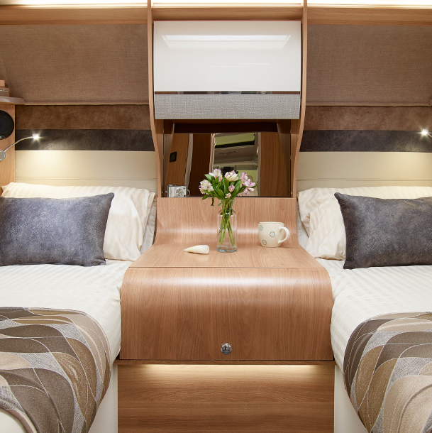 Bailey Motorhome Interior