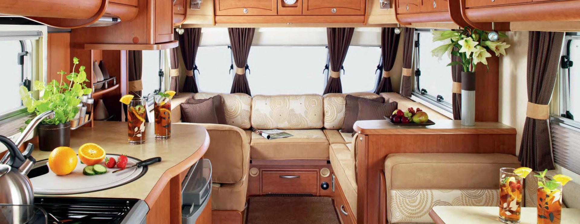 Bessacarr Caravan interior