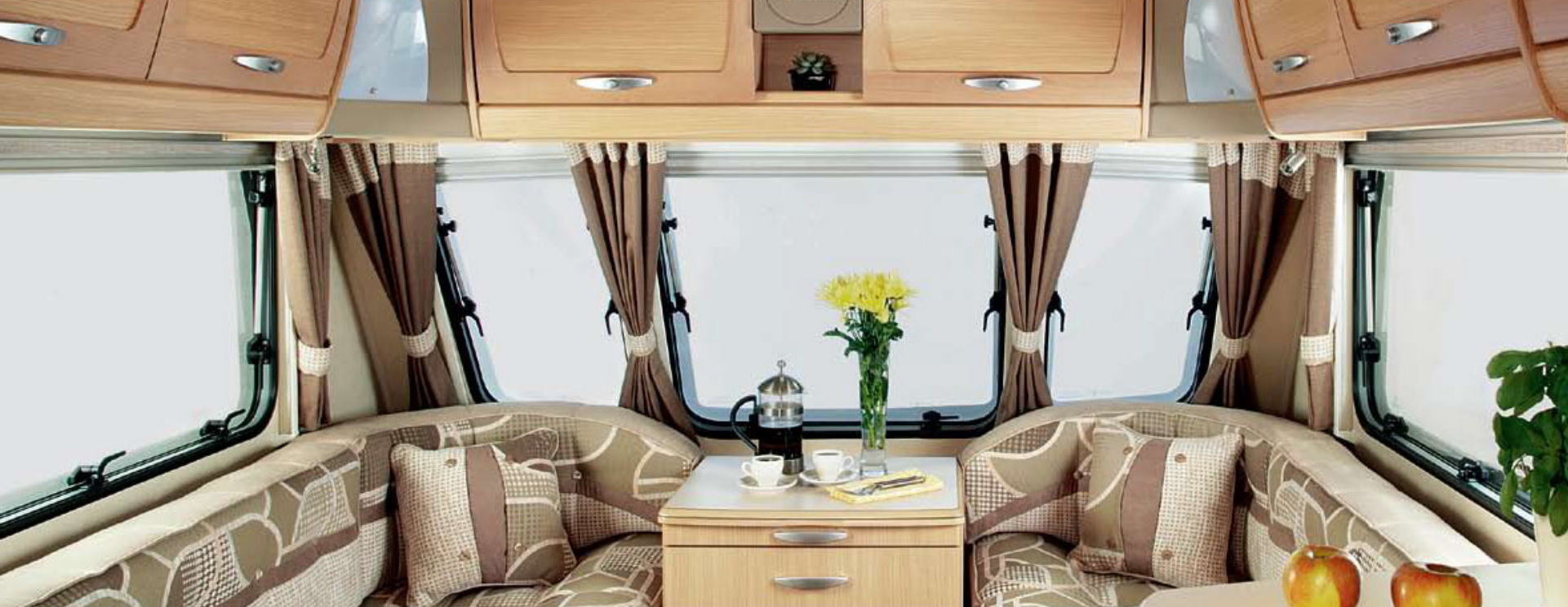 Abbey Caravans Interior