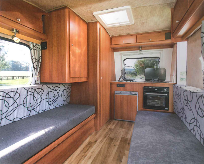 Freedom Caravans Interior