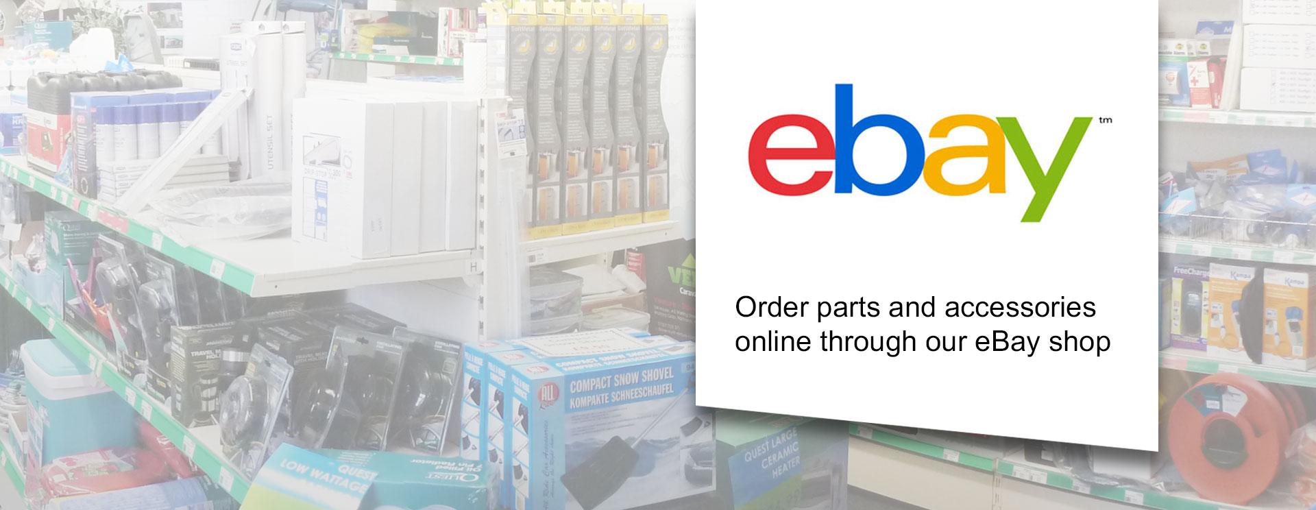 eBay shop online